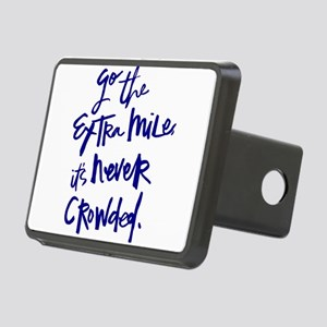 GO THE EXTRA MILE, ITS NEVER CROWDED Hitch Cover