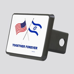 US and Israel Together Forever Hitch Cover