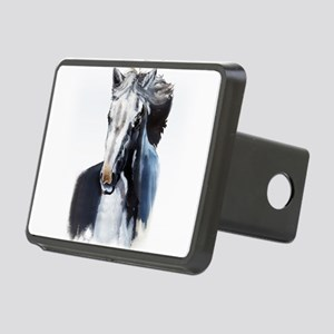 Horse Ghost Rectangular Hitch Cover