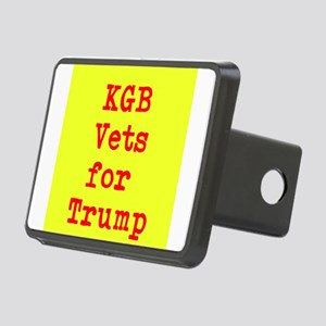 KGB Vets for Trump Hitch Cover