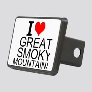 I Love Great Smoky Mountains Hitch Cover