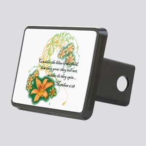 Lilies of the Field Hitch Cover