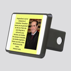 Antonin Scalia quote Hitch Cover