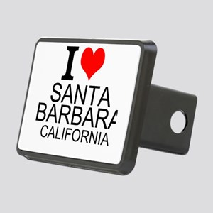 I Love Santa Barbara, California Hitch Cover