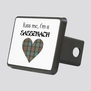 Kiss Me Rectangular Hitch Cover
