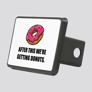 After This Getting Donuts Hitch Cover