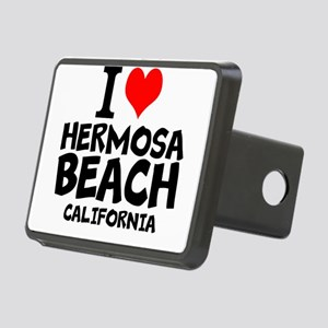 I Love Hermosa Beach, California Hitch Cover