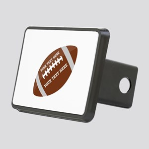 Football Customized Rectangular Hitch Cover