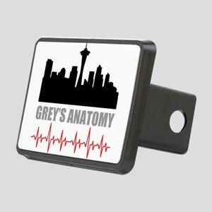 Grey's Anatomy Seatle Rectangular Hitch Cover