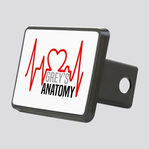 Grey's Anatomy Llove Rectangular Hitch Cover