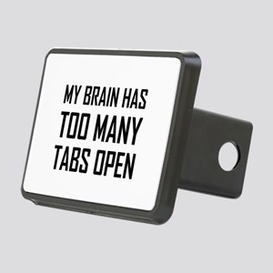 My Brain Too Many Tabs Open Hitch Cover