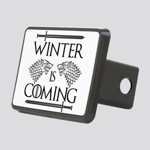 Winter is Coming Rectangular Hitch Cover