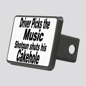 Driver Picks the Music Hitch Cover