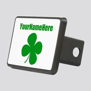 St Patricks Day Personaliz Rectangular Hitch Cover