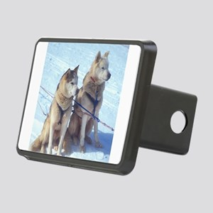 huskies1 Rectangular Hitch Cover