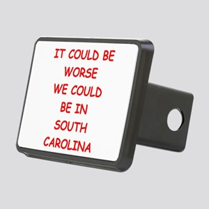 i hate south carolina Hitch Cover