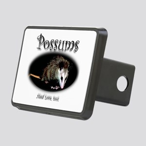 Possums Need Love Too Rectangular Hitch Cover