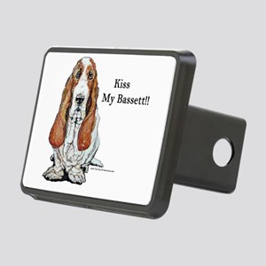 Bassett kiss mine too Rectangular Hitch Cover