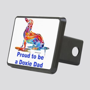 Proud2BeDoxieDad Rectangular Hitch Cover