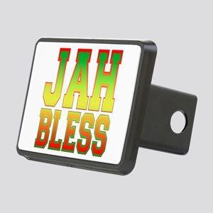 Jah Bless Rectangular Hitch Cover