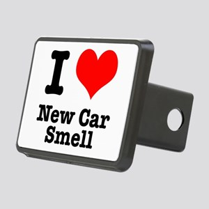 new car smell Rectangular Hitch Cover