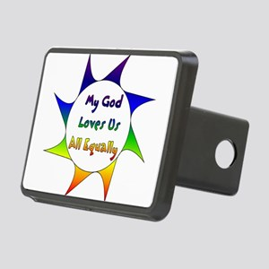 Equal Love Rectangular Hitch Cover
