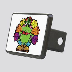 turkey frog Rectangular Hitch Cover