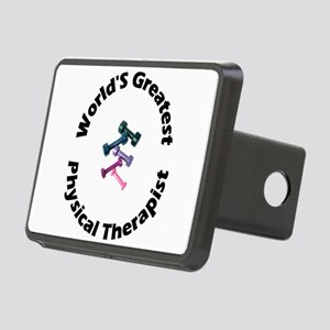 worldsgreatestpt-black Rectangular Hitch Cover