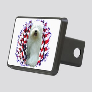 OldEnglishPatriot Rectangular Hitch Cover