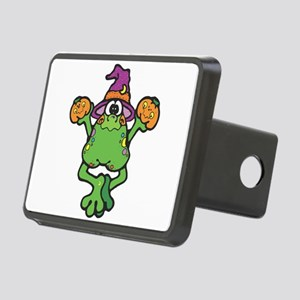 witchy frog copy Rectangular Hitch Cover