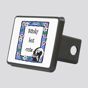 stinky but cute Rectangular Hitch Cover