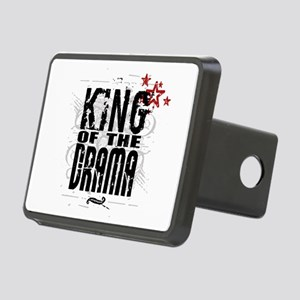 King of the Drama Rectangular Hitch Cover