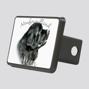 NewfblackMom Rectangular Hitch Cover