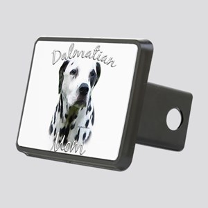 DalmatianblackMom Rectangular Hitch Cover