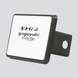 I Love You Rectangular Hitch Cover