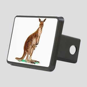 WesternGrayKangaroo Rectangular Hitch Cover