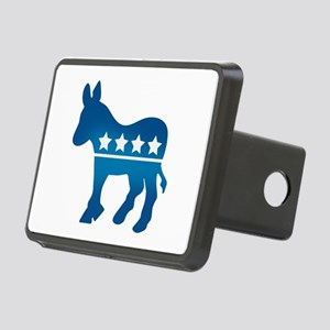 Democrats Donkey Rectangular Hitch Cover