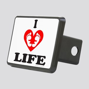 PRO-LIFE/RIGHT TO LIFE Rectangular Hitch Cover