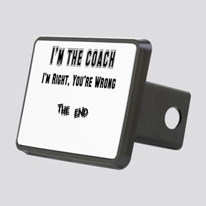 coach right,wrong copy Rectangular Hitch Cover