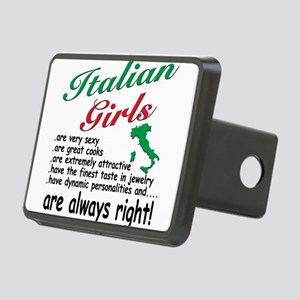 4-3-ITALIAN GIRLS Rectangular Hitch Cover