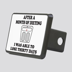 WEIGHT LOSE Rectangular Hitch Cover