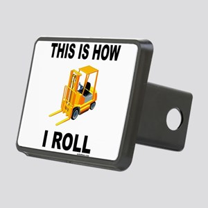 FORKLIFT OPERATOR Rectangular Hitch Cover