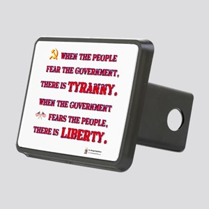 Tyranny Liberty Rectangular Hitch Cover