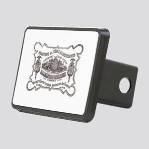 frenchlabelshirt Rectangular Hitch Cover