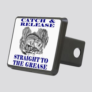 CATCH AND RELEASE Rectangular Hitch Cover