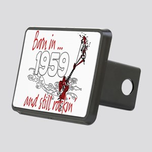 Birthyear 1959 copy Rectangular Hitch Cover
