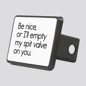 Spit Valve Rectangular Hitch Cover