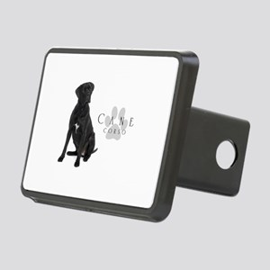 Cane Corso Rectangular Hitch Cover