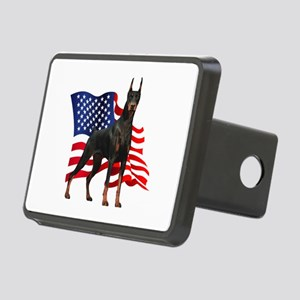 flag Rectangular Hitch Cover