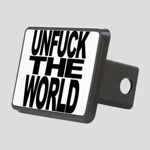 Unfuck The World Rectangular Hitch Cover